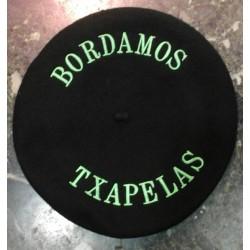 TXAPELAS BORDADAS