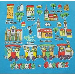 Camiseta Trenecito Vitoria-Gasteiz