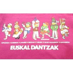 Camiseta EUSKAL DANTZA