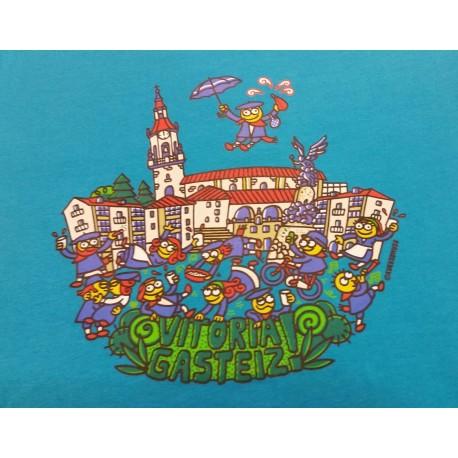 Camiseta VITORIA-GASTEIZ plaza