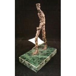 Escultura EL CAMINANTE de 15cm