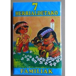 BARAJA DE LAS 7 FAMILIAS (EN EUSKERA)